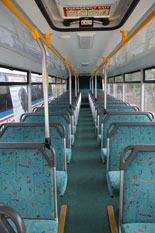 Volvo B7R seating