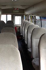 Rosa mini coach seating